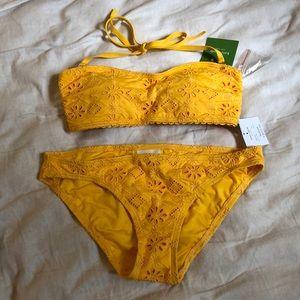 Kate Spade Yellow Bikini